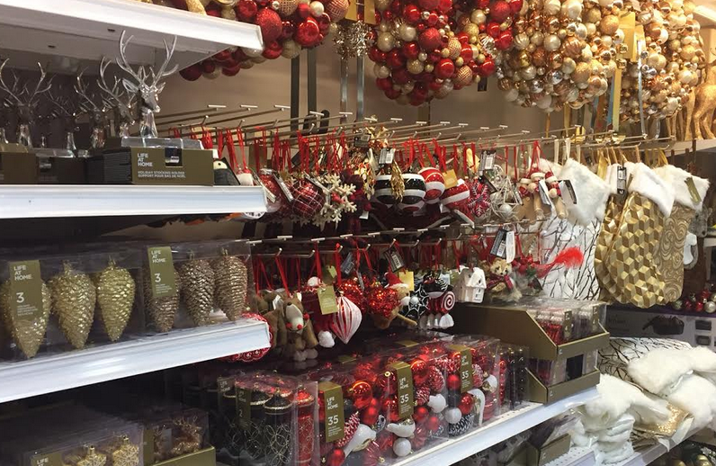 November 3 Christmas decor
